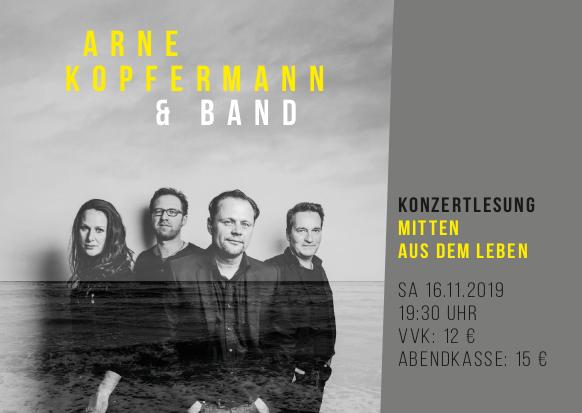 Konzert Arne Kopfermann & Band