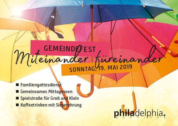 Gemeindefest 2019